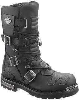 Harley-Davidson Men's Axel 10-Inch Black Motorcycle Boots D96035