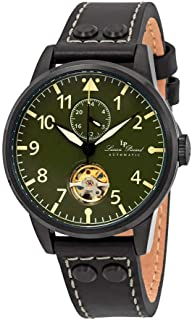 Military 24 Automatic Green Dial Men's Watch LP-28005A-BB-08