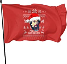 Charles Dickens Merry Dickmas Polyester Flag, Banner Flags