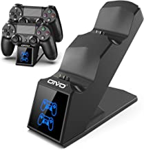 PS4 Controller Charger Dock Station, OIVO PS4 Dual Shock 4 Fast Charger Docking Station with lED Indicator for Sony Playst...