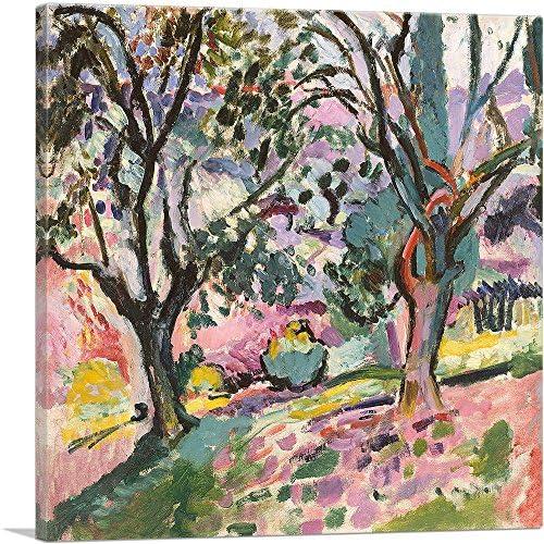 ARTCANVAS Landscape at Collioure 1905 Canvas Art Print by Henri Matisse 12 x 12 0 75 Deep product image