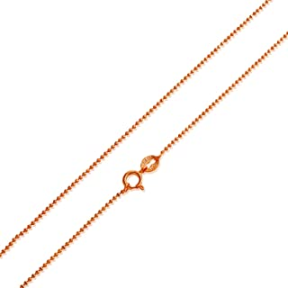 Best rose gold ball chain Reviews