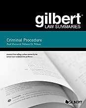 Gilbert Law Summary on Criminal Procedure (Gilbert Law Summaries)