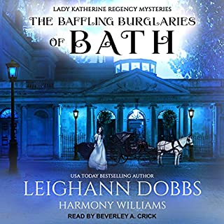 The Baffling Burglaries of Bath cover art