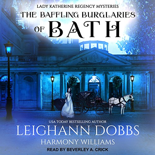 The Baffling Burglaries of Bath audiobook cover art