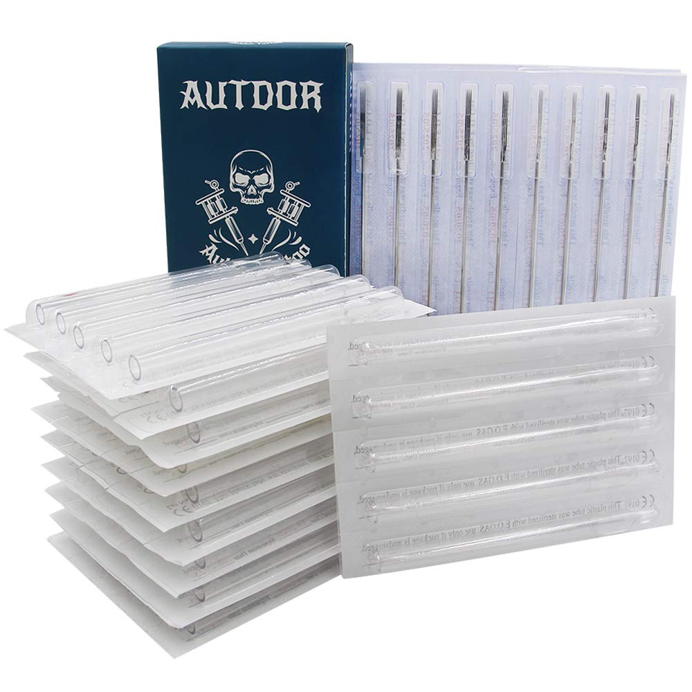 Tattoo Needles and Tips Set discount - Mixed Tatt Disposable 50pcs Autdor Limited time sale