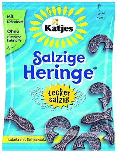 Katjes Salzige Heringe, 20er Pack (20 x 200 g Beutel)