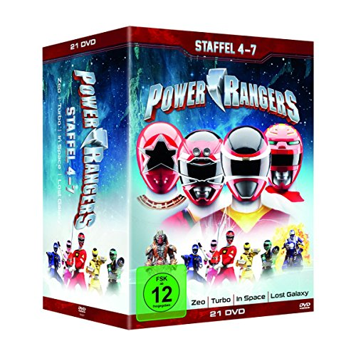 Power Rangers - Staffel 4-7 (21 Discs)