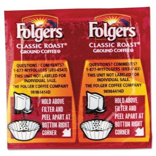 Folgers - Coffee Classic Roast Regular 9/10Oz Vacket Pack 42/Carton Product Category: Breakroom And Janitorial/Beverages & Snack Foods