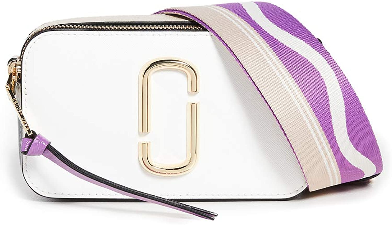 The Marc Jacobs Women's Snapshot Camera Bag, New Moon White Multi, One Size