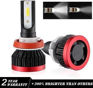 Kit Philips Foco de Luces LED H11 6000K H8 H9 Faros LED 96W/12000LM/