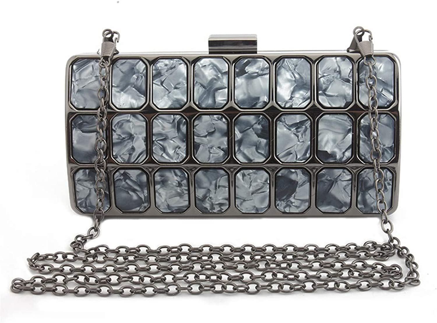 LETODE Women with Bags of Metal and Acrylic Designed for Elegant Women.