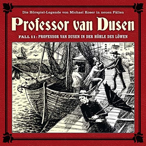 Professor van Dusen in der Höhle des Löwen Titelbild