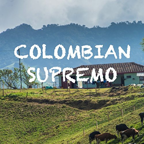 Colombian Supremo Coffee, Whole Bean, Fair Trade, Fresh Roasted, 16-ounce