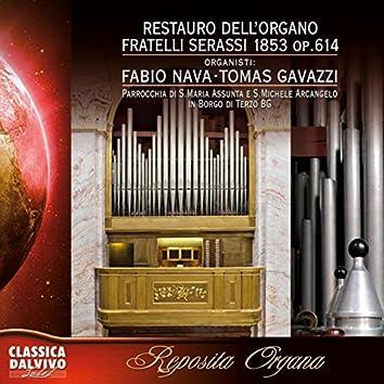Restauro dell'organo Serassi 1853 Op. 614