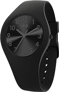 Ice-Watch - Ice Colour Phantom - Montre Noire pour Femme avec Bracelet en Silicone - 018125 (Small)