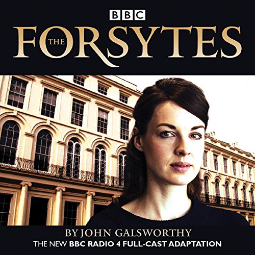 The Forsytes audiobook cover art