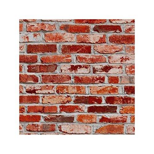 Bonita Rouleau adhésif décoratif 45cm x 2m Mur de Briques