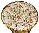 Rattani - Polster für Papasansessel, Auflage, Ersatzpolster Papasan D 110 cm, Stoff Loneta Spain, Made in EU