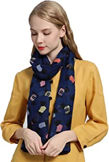 SEW ELEGANT NEW Ladies Women's Scottish Terrier Dog Print Scarf