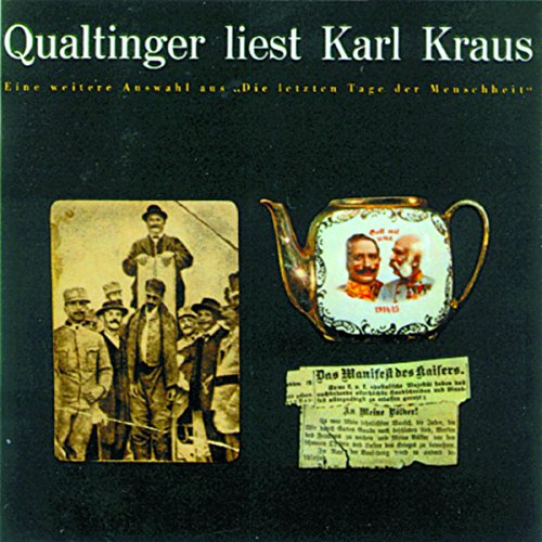 Qualtinger liest Karl Kraus. Eine Auswahl Titelbild