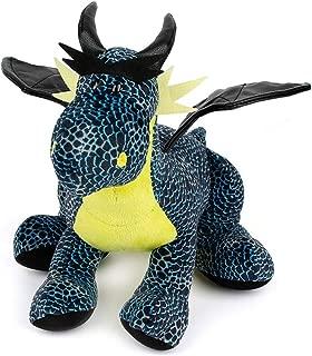 Nuri Toys Stuffed Animal Plush Doll Toy Dragons Black Blue 11