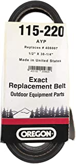Oregon OEM 115-220 replacement Belt Replaces Ayp 408007[245]