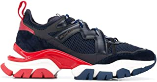 Moncler Luxury Fashion Uomo 4M7034002SH4778 Blu Pelle Sneakers   Autunno-Inverno 20
