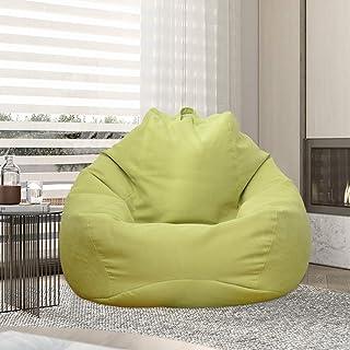 per adulti e bambini Pouf in velluto a coste per il fai da te riempito con coperte in schiuma lettino//giocattoli spesso e morbido per divano senza riempimento