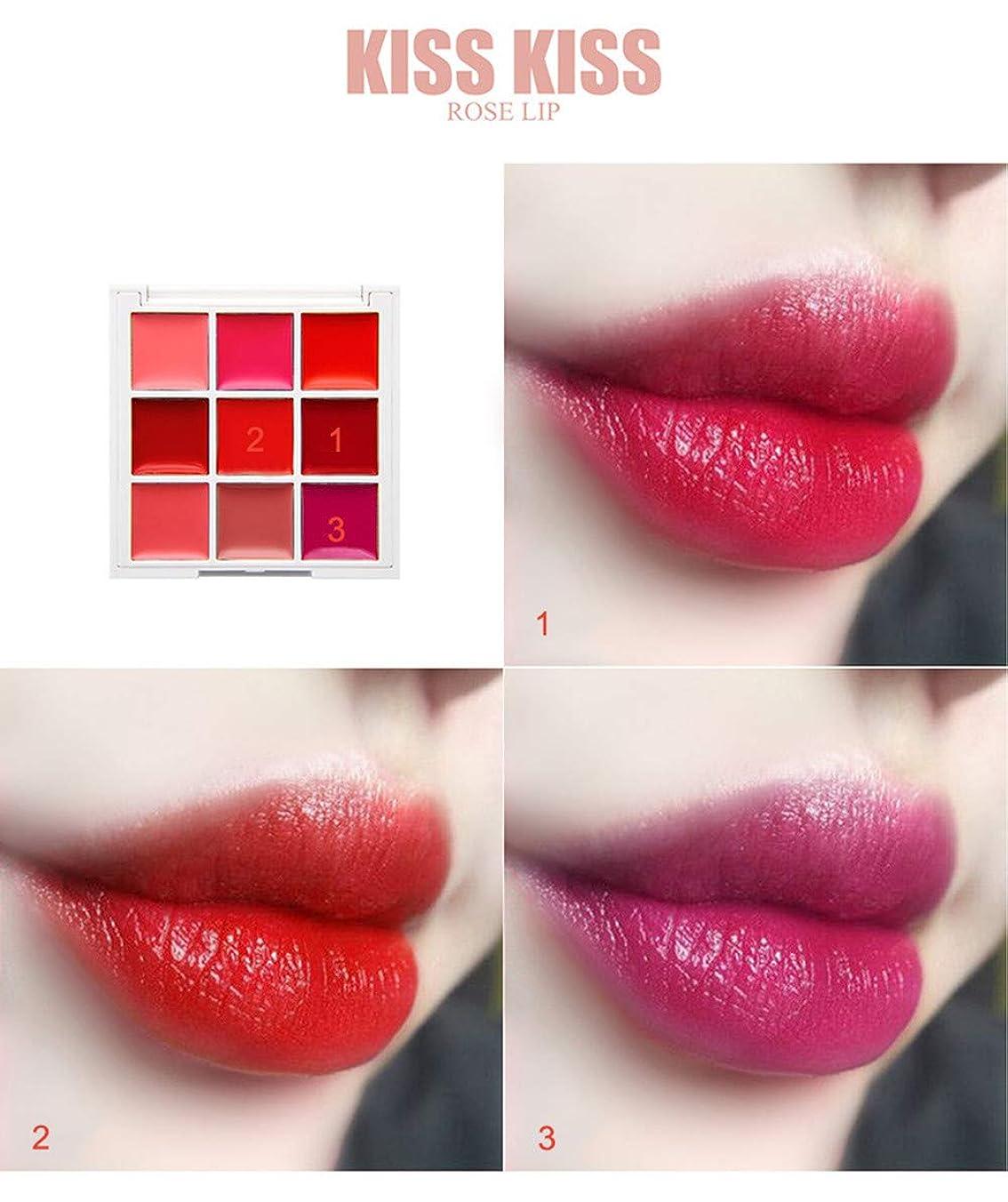 聖歌醜い通行料金美は口紅の保湿剤の唇の光沢の化粧品セットを構成します
