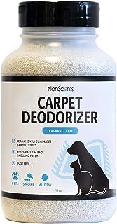 NonScents Carpet Odor Eliminator - Pet and Dog Carpet Deodorizer - Outperforms Baking Soda