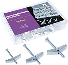 Wing Nut Assortment GALVANIZED DIE CAST ALLOY STEEL 6 Assort Sizes 150-pc