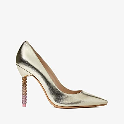 Sophia Webster Coco Crystal Pump (Champagne Ombre) Women