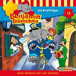 Benjamin als Briefträger audiobook cover art