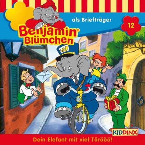 Benjamin als Briefträger audiobook cover art
