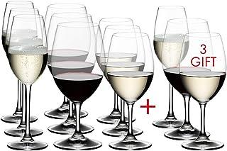Riedel Ouverture Weißwein- und Sektglas, transparent, 12 Stück