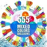 555 PCS Water Balloons-Water Balloons Bulk-Water Bombs- Water Balloons Slingshot-Water Balloons Fight- Water Balloons for Kids-Water Balloons Filler-Water Balloon Games-Balloons Set Party For Kids