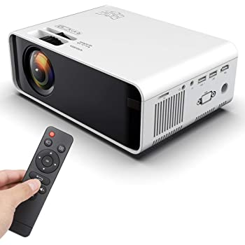 Proyector, mini proyector, proyector de cine Full HD 1080P 4000 ...