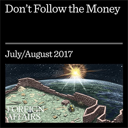 Don't Follow the Money audiobook cover art
