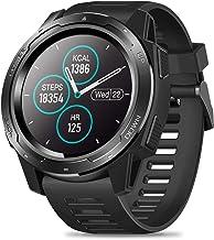 Smart Horloge, IP67 waterdicht, 1,3 inch IPS kleurenscherm, hartslagmeter stappenteller Fitness Tracker Horloge Outdoor Sp...