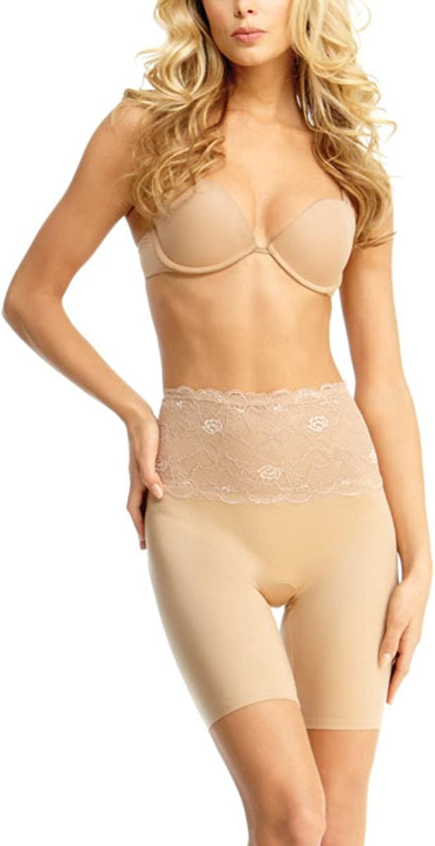 Excellent SlimLuxe By MeMoi womens Shaper Mid Lace SLU-108 Thigh # Direct sale of manufacturer