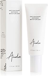 Amalia Antioxidant Defense Moisturizer, Collagen-Boosting Daily Facial Moisturizing Cream, Lightweight, Hydrating, Fragran...