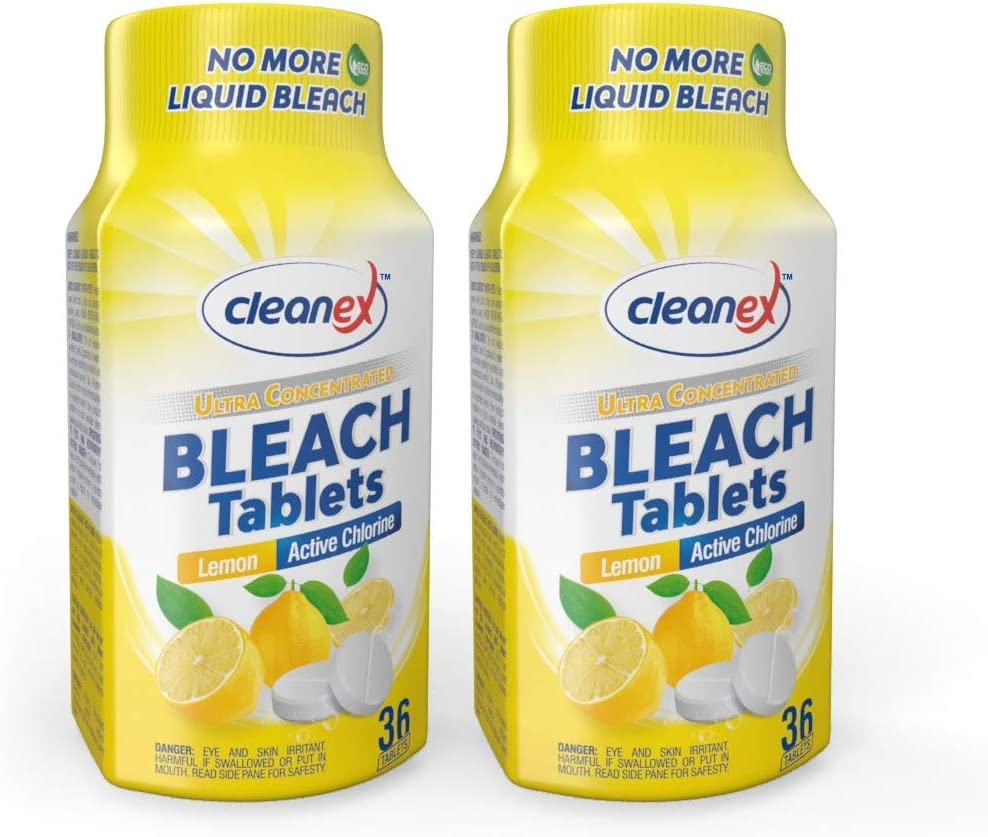 Cleanex Bleach Tablets New Ranking TOP11 4 years warranty Ultra Formula Advanced Concentrated