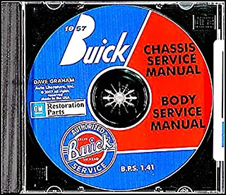 A TERRIFIC MUST HAVE 1957 BUICK REPAIR SHOP & SERVICE MANUAL & FISHER BODY MANUAL CD INCLUDES Series 40 Special, Series 60 Century, Series 50 Super, and Series 70 & 75 Roadmaster vehicles. 57
