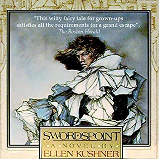 Swordspoint     A Melodrama of Manners              By:                                                                                                                                 Ellen Kushner                               Narrated by:                                                                                                                                 Ellen Kushner,                                                                                        Dion Graham,                                                                                        Katherine Kellgren,                   and others                 Length: 10 hrs and 51 mins     1,213 ratings     Overall 3.6