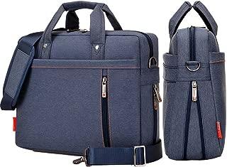 yiyinoe Shoulder Bag for 15 inch Laptop Business Briefcase Waterproof Messenger Bags Blue