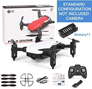 RONSHIN RC Toys LF606 Mini Drone with Camera Altitude Hold RC Drones with Camera HD WiFi FPV Quadcopter Dron RC Helicopter VS Z1, JDRC JD-16, HDRC D2, SM M1 Standard Without Camera White