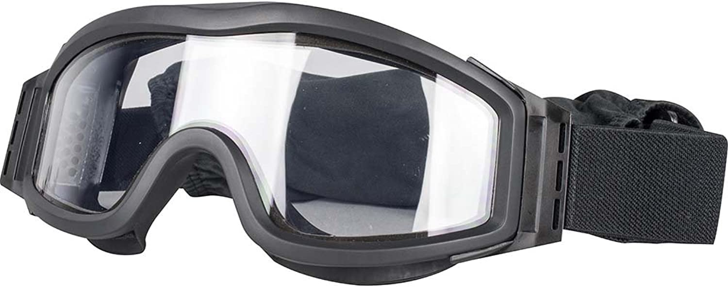 Valken Airsoft Tango Thermal Lens Goggles, with 3 Lenses, Black Frame