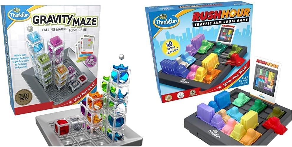 ThinkFun Rush Hour Traffic Jam Brain Louisville-Jefferson County Mall Recommendation Toy Gravity and STEM Game