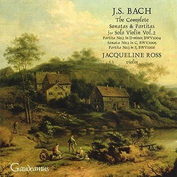 Bach: Sonata for Solo Violin No. 3; Partitas Nos. 2 - 3
